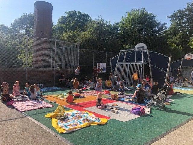 New lower playground